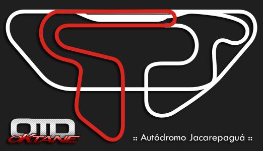 Tracado Autodromo Internacional Nelson Piquet