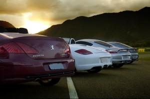 307cc e Porsches no Heliponto ao entardecer - Thiago Costa