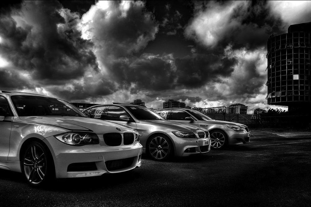 BMW 135i Sauber, 335i e M5 - Thiago Costa