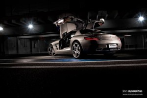Mercedes Benz SLS por Leo Sposito