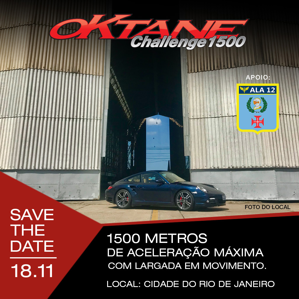 Oktane Challenge 1500 - Save the Date