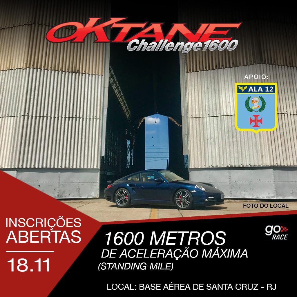 Pre-Inscricao Oktane Challenge 1600