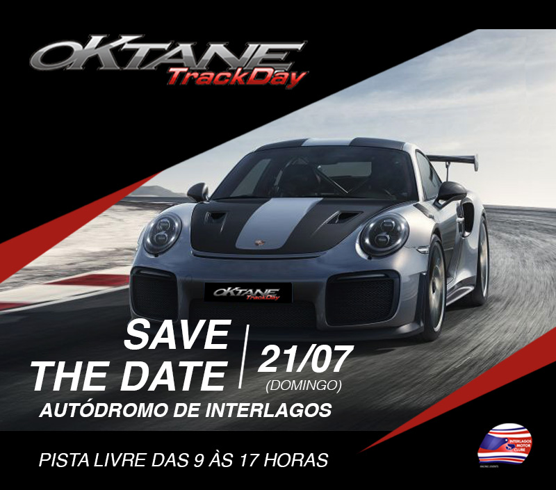 Oktane Trackday Interlagos 21/07 - Save the Date